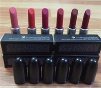 Wholesale Perfect Full - HOT top hight quality 12 colors M perfect Makeup Luster Lipstick Matte Lipstick 3g lipstick with English Name epack free shipping with gift