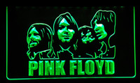 Wholesale neon sign bands - LS161-g Pink Floyd Band Music Bar Pub Neon Light Sign