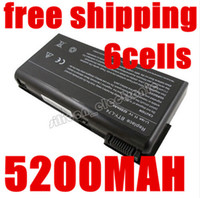 Wholesale Batteries Fujitsu - Wholesale-5200mAh laptop Battery For MSI BTY-L74 BTY-L75 A5000 A6000 A6203 A6205 A7200 CR600 CR610 CR610X CR620 CR630 CR700 CX600