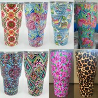 Wholesale Colorful Stockings - Newest 30oz Colorful Tumbler Mugs 304 Stainless Steel Tumbler Vacuum Insulation Cup Beer Bar Dining Travel Mug 9 Style In Stock WX-C59