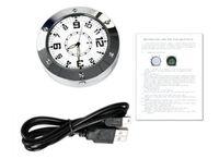 Wholesale Spy Camera Clock Dhl - DHL HOT Hidden Spy Alarm Desk Clock Home Security Clock Recorder Video Security Hidden Spy Camera Cam Sound Motion Detector