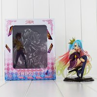 Wholesale model figure scales - 15cm Anime No Game No Life Shiro 1 7 Scale Boxed PVC Action Figure Toy Collection Model