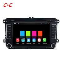 Wholesale Golf Navi - 1024X600 Core Android 5.1.1 Car DVD Player for Volkswagen GOLF with Radio Navi Wifi DVR Mirror Link BT +Free Gifts