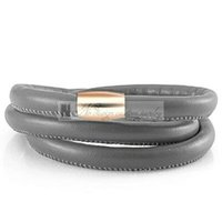Wholesale Cooper Steel - no design custom jewelry Summer Magnetic Cooper Magnet Steel Lock 20-60cm Endless Friendship Bracelet Men and Women