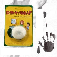 Wholesale Blood Metal - Wholesale- HEY FUNNY 1piece Funny Trick Prank Dirty Soap Blood Soap Novelty Toys For Kids Gift