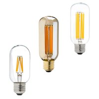 Wholesale Edison LED Filament Bulb T45 Tubular Style W W E26 E27 Base Decorative For Pendant light Dimmable