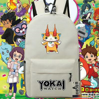 Wholesale soft dog backpacks - Komajiro backpack Yokai watch day pack Pug dog cartoon school bag Anime packsack Quality rucksack Sport schoolbag Outdoor daypack