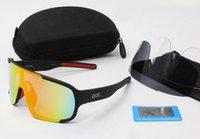 Wholesale Sport Glasses For Bike - Sunglasses Women Brand Designer POC Sun Glasses Aspire Anti-Fog Cycling Bici Velo Eyewear Sport Cycling Bike Mens Sunglasses For Men Women.