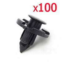 Wholesale 8mm Clips - Partsam 8mm Plastic Rivet Fastener Mud Flaps Fender Push Clips for Nissan