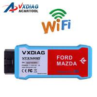 vcm quality toptan satış-FORD İçin VCM II'den Daha İyi IDS V98 İle 1 Wifi İçinde Ford / Mazda 2 İçin Yüksek Kaliteli VXDIAG VCX NANO Hızlı sevkıyat
