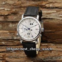 Wholesale Perpetual Luxury - Super Clone Ulysse Brand Watch Classic GMT Perpetual Calendar Ref. 329-80 Mens Watch 322-82-322 Automatic Silver Dial Luxury Cheap Watches