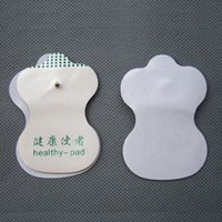 Wholesale Cheap Massager - Cheap Price White Electrode Pads For Tens Acupuncture Digital Therapy Machine Massager Tools Health Care 2piece=1pair