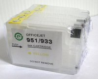 Wholesale Hp Cartridge Arc - Refillable ink cartridge for HP932 HP933 Officejet 6100 6600 6700 7110 7610 printer with ARC chip forever show ink level