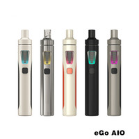 Wholesale Cheapest Battery Mods - 100% Original Joyetech EGo Aio Kit 0.6ohm 1500mah Battery Mod E Cigarette Kit with 2ml Atomizer Cheap E Cigarette China