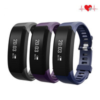 Wholesale bluetooth bracelet oled for sale – best H28 Smart Bracelet Fitness H28 Bluetooth Wristband Heart Rate Monitor Call Reminder Touch OLED Screen Band smart watch free ship