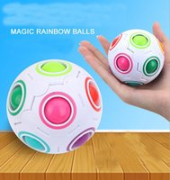 Wholesale Soccer Puzzles - Magic Ball Shaped Magic Soccer Creative Cube Puzzle Toys DA73