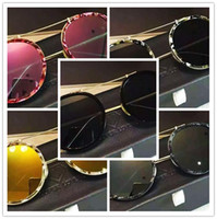 Wholesale Super Star Metal Women - 2016 mix order High Quality 2016 popular logo super star lovers 16 ss New Super Lovers Sunglasses Fashion Classic S metal with sunglasses