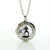 Wholesale crystal symbols - Memorable men jewelry locket necklaces sport rugby football sport brave and courage symbol accessory for men NF047