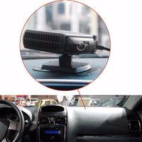 ausschwärmen großhandel-12V 24V SJ-006 Tragbare 120W-150W Auto-Heizungsheizung Defroster mit ausschwenkbarem Griff Fahrenthusiasten Auto-Styling Demisterr Auto Heat Fan