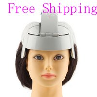 Wholesale Brain Massage - Free Shipping New Arrival Head Massager Electric Head Massager Brain Massage Relax Acupuncture Points Gray Fit for Men and Women