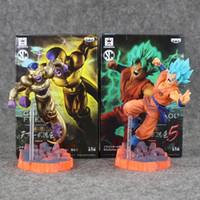 Wholesale Dragon Ball Z Frieza - Dragon Ball Z Resurrection F Golden Frieza freeza freezer VS Goku Action Figure Model Toy PVC Collective Doll