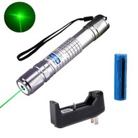 Wholesale powerful laser pen beam light resale online - Powerful Mile Green Laser Pointer Pen mw nm Military Laser Pen Pointer Astronomy Beam Light Battery Charger