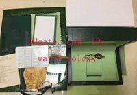 Wholesale Swiss Eta Watches - 2017-2018 Handbag Mens Inner Outer Original Wooden Box Watch Boxes Papers 116610 116660 7750 3135 3186 116710 116520 Swiss ETA gmt