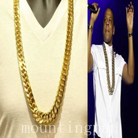 """Wholesale Diamond Chunky - Star Thick Chunky Chain 24k Solid Yellow Gold NecklaceMen 23.6"""" NO diamond Gold about 30% or more, with the ability to disaster."""