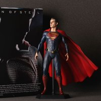 Superman Action Figure Spielzeug Superman 1/6 gemalte figur Superman figur Garage Kit Puppe Brinquedos Anime