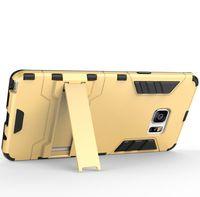 étui de téléphone armure de fer homme galaxie achat en gros de-pour Samsung Galaxy Note7 Iron Man armure portable cas Note7 combo straddle téléphones mobiles