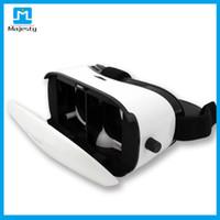 dhl sanal gerçeklik gözlükleri toptan satış-Sanal Gerçeklik 3D VR Gözlük iPhone 6 6 s Artı Samsung HTC ve Diğer Android Akıllı Telefonlar Beyaz vr kutusu 3d gözlük