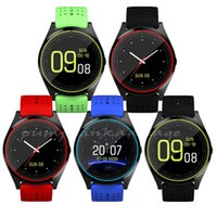 Wholesale Shipping Status - The V9 smartwatch android V8 DZ09 U8 samsung smart watch smartphone watch can record sleep status free shipping