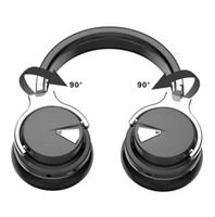 bluetooth kulaklık mikrofon pc için toptan satış-E-7 Soft Bluetooth Headphones stereo with Mic Wireless Headset Earphone for Phone PC Computer MP3 36 Hours Volume Control