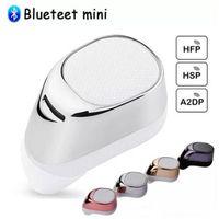 kopfhörer bluetooth kopfhörer drahtloser kopfhörerkopfhörer groihandel-Portable S630 Wireless Bluetooth Kopfhörer Mini Invisible Headset Ohrhörer Freisprech Stereo Kopfhörer mit MIC Noise Cancelling Hörmuschel