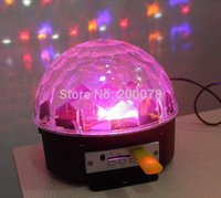 DMX controllo musicale Stage Light RGB Crystal ball Magic Ball stage Light DJ Disco DJ Illuminazione U disco Home Entertainment
