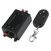 foco controlado remoto com controle remoto sem fio venda por atacado-Controle Remoto sem fio LED Light Dimmer Controlador DC 12V MR16 LED Spotlight x50