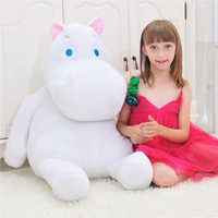 hippo gifts 2021 - Loved Animal Plush Toy Hippo Doll Toys Childrens days gift for Valentine's Day Gift 60cm 24inch height