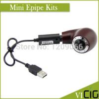 Wholesale Eletronic Vapors - vogue design mini E-pipe mod , best e pipe vaporizer ,new e pipe 618 mini e pipe eletronic cigarette big vapor e