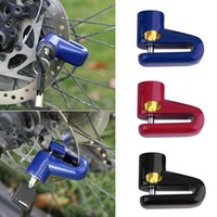 Wholesale Rotor Mtb - Anti-Theft Safety Security Motorcycle Bicycle Lock Steel Mountain Road MTB Bike Cycling Rotor Disc Brake Wheel Lock Y0028Bicycle Accessories