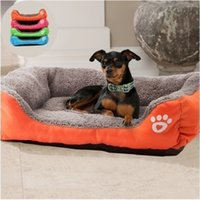 Wholesale Cute Bedding - Cute Pets Small Large Warm Cats Puppy Dogs Beds Kennel Mat Pads Dog Pet Bed sofa