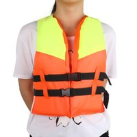 Vente en gros - Kid Life Jacket 4 - 10 ans avec Whistle Swimming Boating Drifting Floating Safety Child Life Vest