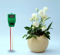 Wholesale Plant Moisture Tester - Soil Tester Meter Multi-function No Battery Need For Garden Lawn Plant LIGHT PH MOISTURE Pot TESTERS Free Shipping
