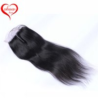 Wholesale Top Quality Peruvian Hair - Top Quality Closure Brazilian Lace Closure Unprocessed Peruvian Indian Cambodian Malaysian Body Wave and Straight Lace Closure