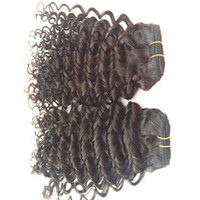 Wholesale Deep Curl Peruvian Hair - Peruvian Indian Malaysian Mongolian Cambodian Brazilian deep curl hair bundle cheap human hair extension #1b color hair weaves pictures