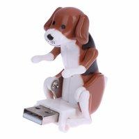 Wholesale Dog Usb Drives - Portable Mini Cute USB 2.0 Flash Disk Spot Dog Rascal USB Toy Relieve Pressure for Office Worker Cartoon USB Dog Flash Drive