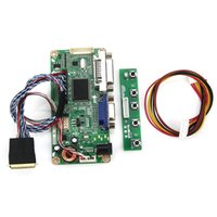 Wholesale A1 Boards - Wholesale-For LP156WH2(TL)(A1) N156B6-L0B (VGA+DVI) M.RT2261 LCD LED Controller Driver Board DS Monitor Reuse Laptop 1366x768