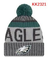 Wholesale Hat Knitting Fur Yarn - New Fashion Unisex Philadelphia Winter Eagles Hats for Men women Knitted Beanie Wool Hat Man Knit Bonnet Beanie Gorro Warm Cap