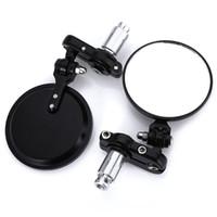 bar end motorräder spiegel großhandel-SL-001 Universal 1 Paar 2 STÜCKE Seitenspiegel 7/8