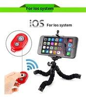телефон с осьминогами оптовых-Гибкий держатель Octopus Штатив Кронштейн Подставка Монопод Цифровая камера Hero 3 4 для iPhone 6 7 Huawei Phone s7 s8 с пультом дистанционного управления