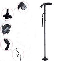 Wholesale Folding Cane with Built in Light Walking Cane Smart Foldable Cane Smart Cane Hot